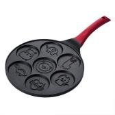 Pancake Maker Pan - Moules à crêpes pour plaque chauffante