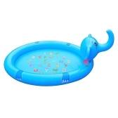 Nuevo estilo, fuente de elefante inflable al aire libre, piscina para niños, ducha, juego, fuente de aerosol