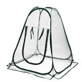 Mini cubierta transparente para invernadero emergente