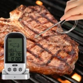 LCD Wireless Kochen Essen Thermometer Timer Digital Sonde Fleisch Thermometer Barbecue Küche BBQ Thermometer