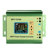 MPPT Solar Panel Batterie Regler Laderegler mit LCD-Farb-Display 24/36 / 48/60 / 72V 10A Kompatible DC-DC-Boost-Ladefunktion