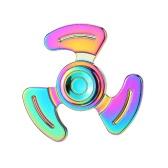 Rainbow Mental Spinner de alta velocidad Fidget dedo juguete de mano para adultos Los niños ayudan a Anti-Ansiedad Focusing Quitting Bad Habits con bolsa de almacenamiento