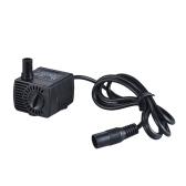 Mini zanurzeniowa bezszczotkowa pompa wodna Ultra-cicha Max. Podnieś 1,5 M 200L / H DC 12V dla akwarium Fontanna Akwarium