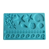 DIY Silicone Fondant Mold Cake Decoration Tools Sugar Baking Icing Molds Cakes Border Decor