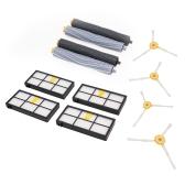 Haus-Reinigungs-Helfer-saubere Maschine Bequemes Reinigungszusatz-Auszieher-Satz Bürsten-Filter-Ausrüstung für IRobot Roomba 800 Reihen-Schirm-Werkzeug