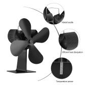 4 Blades Home Fireplace Fan Эффективное распределение тепла