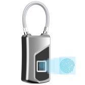 Cerradura de huella digital sin llave inteligente recargable USB IP66