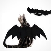 Halloween Pet Bat Costume Cat Bat Traje para o Dia Das Bruxas Pet Fancy Dress para Gatos Cães Pequenos