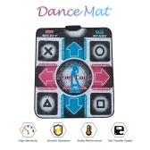 Танцевальный коврик Танцевальный коврик для игрового коврика Ежедневные упражнения с нескользящим танцевальным одеялом Универсальный USB-штекер для ПК