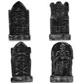 4パックハロウィーンフォームRIP墓地墓石墓石