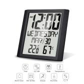 Digital Wall Clock with Temperature & Humidity 8.6