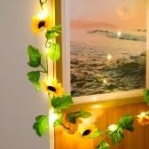 6.56ft 20LEDs Fairy String Lights Flower Shaped Decorative Hanging Lights