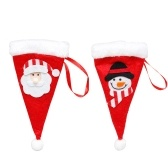 2pcs Mini Santa Hat Christmas Hats