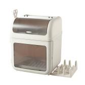 Dustproof Plate & Dish Storage Organizer Box