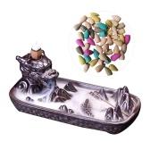 Keramik Handwerk Backflow Weihrauch B-Urner Karpfen Buddhist