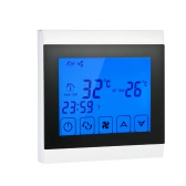 110-130V Klimaanlage 2-Rohr-Thermostat mit LCD-Display guter Qualität Touch Screen Programmierbare Raumtemperaturregler Home Improvement Produkt