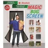 Magic Bug Screen Magnetic Screen Door Mesh Curtain