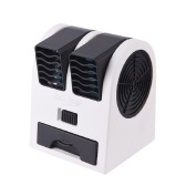 Portable Bladeless Table Fan Double Wind Outlet Perfume Mini Air Cooler