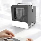 Acondicionador de aire de iones negativos de ventiladores portátiles con luz LED