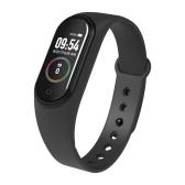 Smart Watch Monitoring Blood Pressure SPO2 Intelligent Touching 0.96Inch Screen Fitness Tracker Bracelet