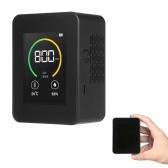 Monitor de Qualidade do Ar Medidor de CO2, Temperatura e Umidade Detector de Dióxido de Carbono