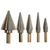 5PCS Step Drill Bit Set