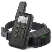 Ошейник для дрессировки собак Аккумуляторный шоковый ошейник с звуковым сигналом и виброударом