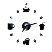 DIY настенные часы бескаркасные немые настенные наклейки