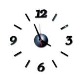 DIY настенные часы бескаркасные немые настенные наклейки диаметр 40 современный дизайн стикер для гостиной дома кухни офиса украшения для спальни подарки