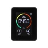 Monitor de qualidade do ar Detector de ar CO2 Detector de dióxido de carbono