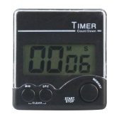 Digital Kitchen Timer with Strong Magnet Back Stand Loud Alarm