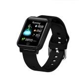 Relógio inteligente rastreador de fitness pulseira esportiva inteligente IP67 à prova d
