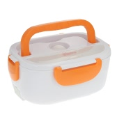 Stylish Electric Lunch Box Portable Electric Heating Food Container with Spoon Food Warmer Electric Lunch Box Heating