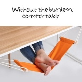 Portable Foot Hammock Relaxing Pedal for Office Home