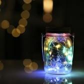 LED Mason Jar Fairy Light einfügen Garten Dekor Lampen