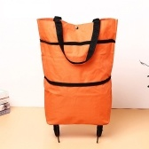 B11-46 Shopping Trolley Bag Oxford Folable Tote bag Shopping Cart