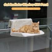 Cat Радиатор Кровать Cat Подоконник Окунь Гамак Теплый Флис Кровать Сиденье для Кошки Щенок Котенок Собака Pet