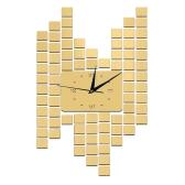Nowoczesne DIY Frameless Roman Numery Quartz Wall Clock Lustro Efekt Naklejki Naklejki Ustaw Home Decoration Gold
