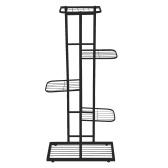 5-уровневая полка для выставки товаров Стойка для цветочных горшков Подставка для растений Горшечная лестница Подставка для кашпо Сверхмощная полка для хранения стеллажей для комнатных растений