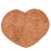 50 * 60cm Super weiches Chenille Garn Herz Form Footcloth hochabsorbierenden Teppich Anti-Rutsch-Tür Matte Boden Matte Bodenmatte für Indoor Eingangsbereich