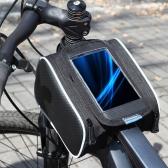 ROSWHEEL ciclismo bici bicicleta tubo superior delantero Marco alforja doble bolsa bolsa para 5,5 in teléfono móvil 12813 L 1,8 L-A