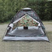 2 Person Layer Outdoor Portable Camouflage Camping Zelt
