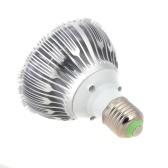 E27 9W привело завод светать гидропонных лампы лампы 7 красный 2 синий энергосбережения для Крытый цветок растения овощных парниковых рост 85-265V