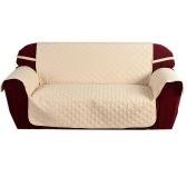 Quilted Microfiber Soft Sofa Cover Cushion Backrest Slipcover Covering Mat for Home Furniture Protector