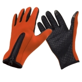 Outdoor Windproof Winter Thermal Warm Touchscreen Silikon Handschuhe