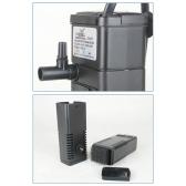 3 in 1 Portable Aquarium Internal Filter Multi-Functional Water Pump for Fish Tank 220-240V 5W
