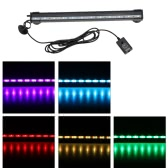 55cm 5,2W 21 LEDs Blase Aquarium Licht 120 Grad RGB 15Colors IP68 Submersible Remote Control Fisch Tank LED Lichtleiste