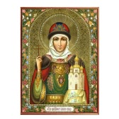 DIY Handmade Diamond Painting Set Religious Figure Resin Rhinestone Pasted Cross Stitch for Home Decoration 30*40cm