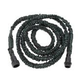ANSELF Гибкий расширяемый сверхлегкий садовый водостойкий шланг Magic Pipe Black and Green 25FT