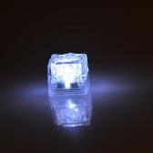 Mini Leuchtend LED Kunsteis Würfel Hochzeit Party Dekoration Weiß
